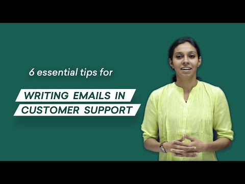 Writing Emails In Customer Support: 6 Tips You Can Use (ACTIONABLE) | Freshworks Academy