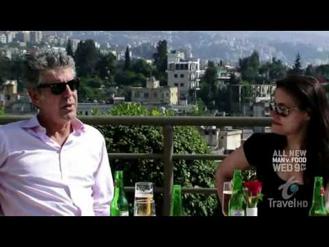 Anthony Bourdain - No Reservations - Back to Beirut  (1/3)