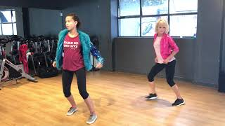 "Studio rehearsals with actress Ashley Aufderheide for the movie ""Four Kids and It"""