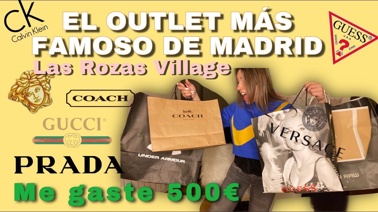 agudo Empírico éxtasis  Las Rozas Village El Outlet mas Famoso de Madrid tiendas de marca de alta  gama - YouTube