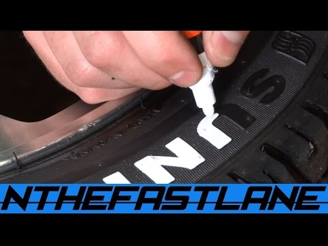 Tire Lettering Paint How To