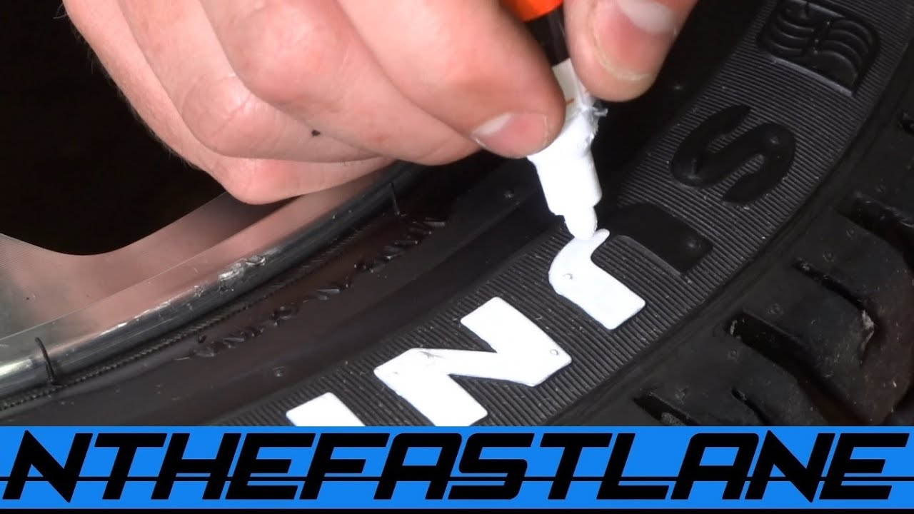tire lettering paint how to youtube