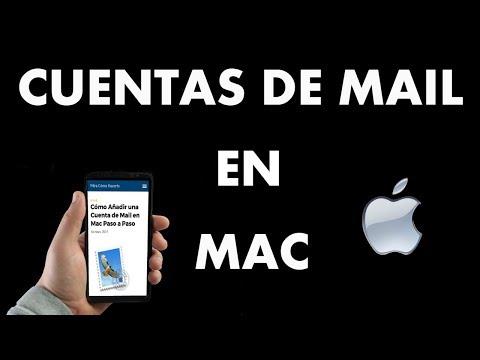 ¿Cómo Añadir una Cuenta de Mail en Mac?