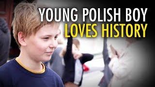Patriotic Polish children