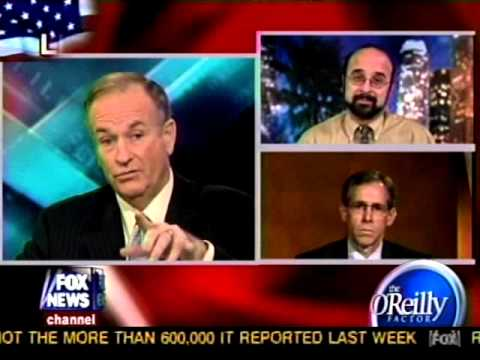 October 18, 2005  DePauw Prof. Jeff McCall '76 on 'O'Reilly Factor'