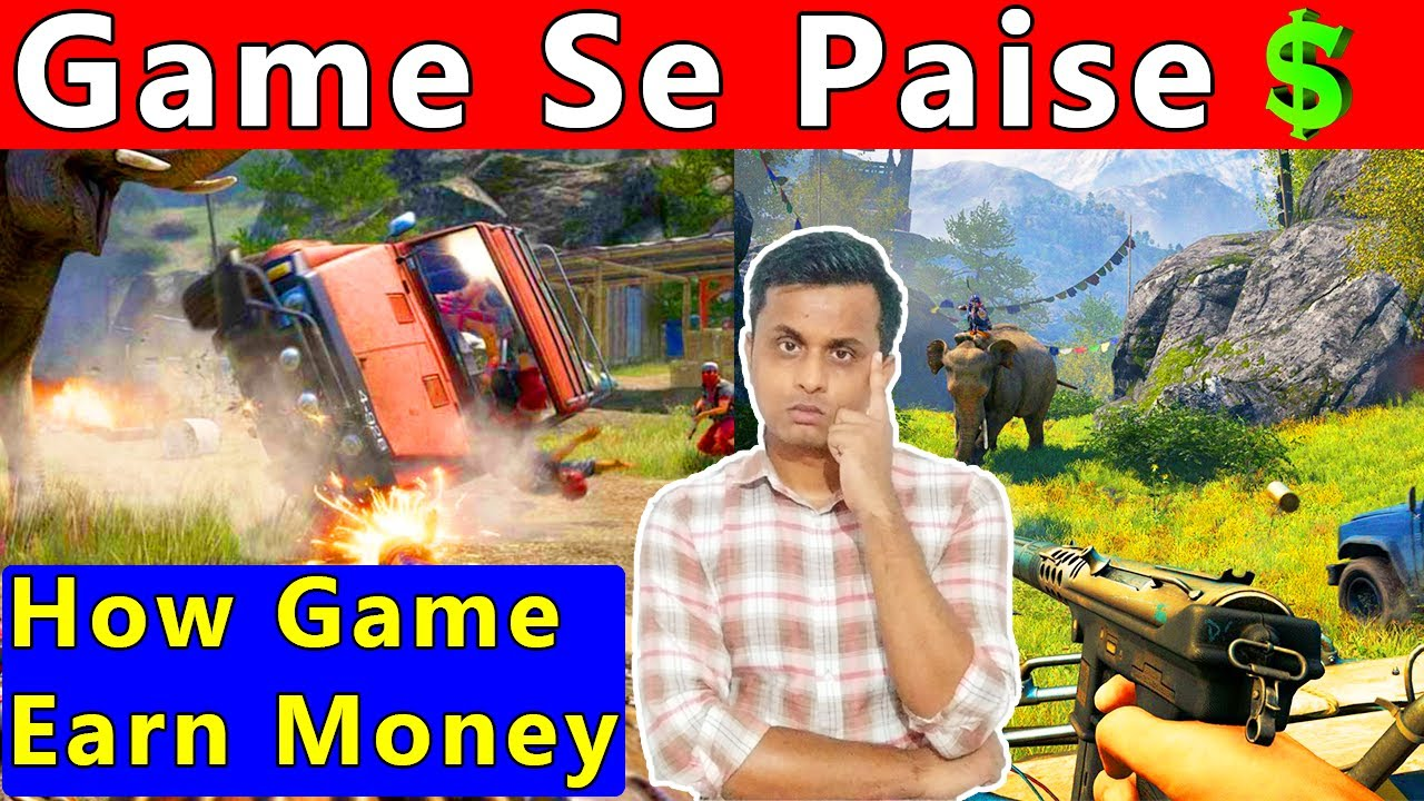 ?How Video Game Earn Money ? Gaming Company Paise Kaise Kamate Hain ? Game Se Paise Kamao