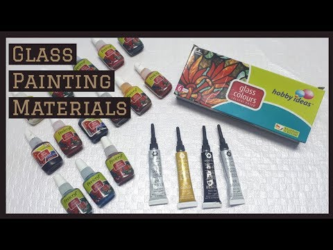 Glass Painting Materials/Beginners Tutorial for Glass Painting Materials thumbnail