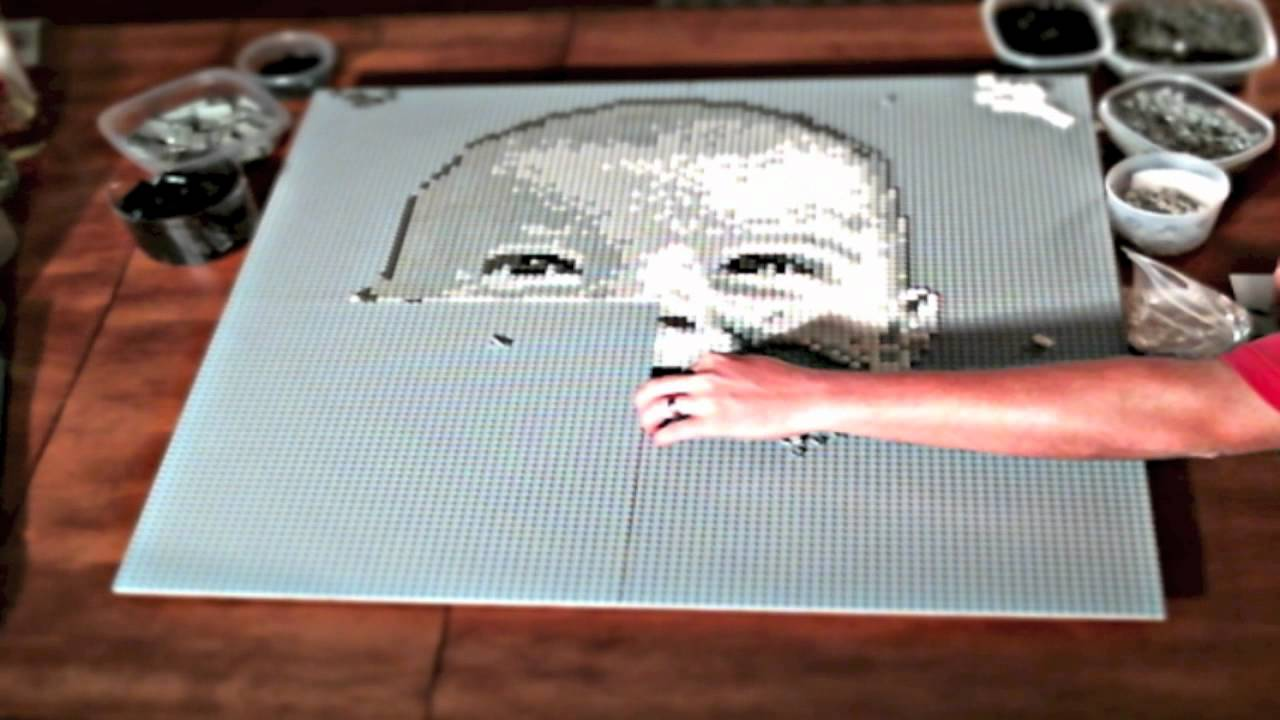 Gavin    a Lego mosaic portrait by Brickworkz   YouTube  Gavin    a Lego mosaic portrait by Brickworkz   YouTube