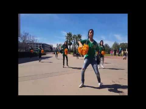 Roy Romer Middle School X Cheer Rally