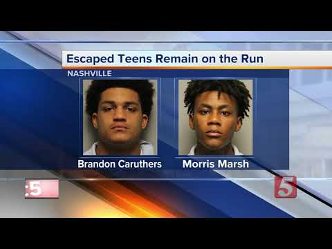 Search continues for remaining 2 teens who escaped from Nashville detention center