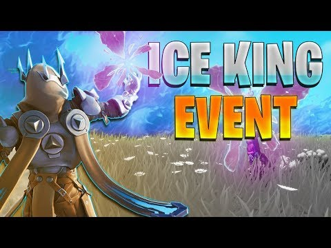 🔴 ICE KING MAJOR FORTNITE EVENT // SNOW STORM HOVERBOARDS // Fighting the King // Fortnite LIVE thumbnail