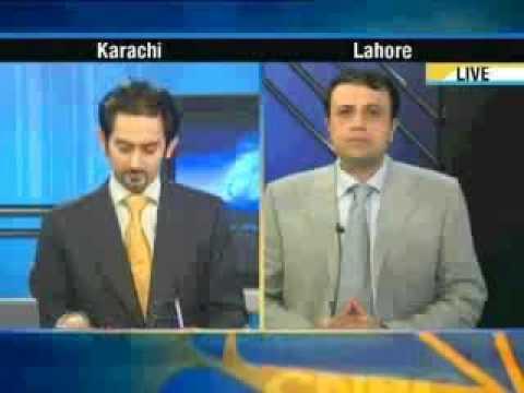 Junaid Iqbal with Mr. Hamesh Khan (President Bank of Punjab) on CNBC Power Lunch Part 2.flv