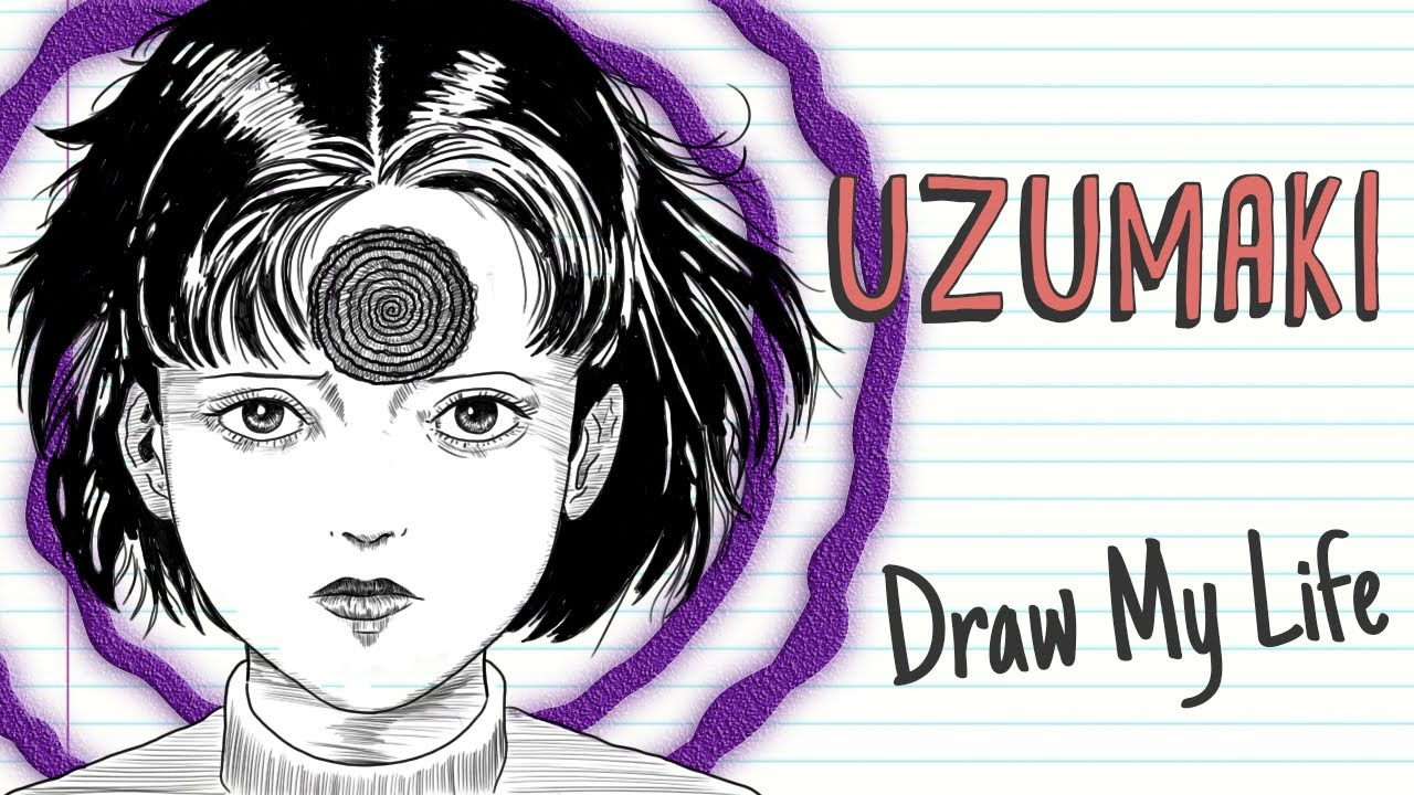 UZUMAKI, THE CURSE OF THE JAPANESE SPIRALS | Draw My Life