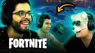 CARREGADOS NO FORTNITE - FICAMOS TOP 5?!