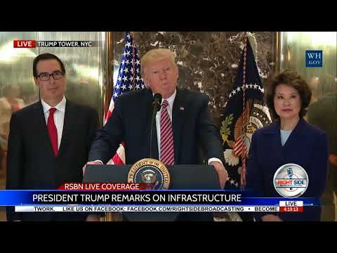 President Trump BASHING the Press on Coverage of Charlottesville 8/15/17