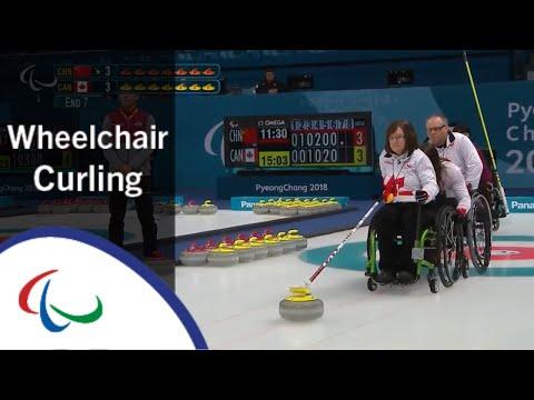 [China v Canada] | Semi-final |Wheelchair Curling | PyeongChang2018 Paralympic Winter Games