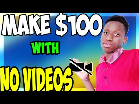 How To Make $100 A Day On Youtube Without Recording Videos! ( New method )