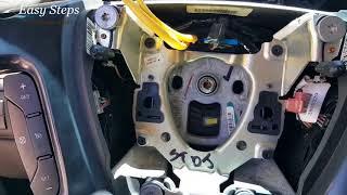 How to Change Steering Wheel on Chevrolet Suburban | Upgrade Steering Wheel