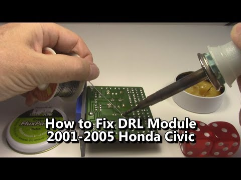 How to Repair DRL Module Honda Civic Daytime Running Lights