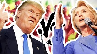 DONALD TRUMP VS HILLARY CLINTON - TOTALLY ACCURATE BATTLE SIMULATOR