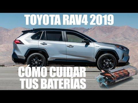 Toyota RAV4: Como Cargar Y Proteger La Baterías De Tu Híbrido