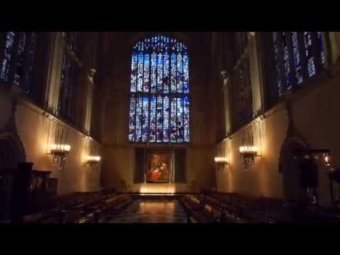King's College Chapel, Cambridge, by candlelight