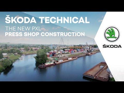 Ressourcenschonende Produktion: Neue SKODA Servo-Pressenstraße PXL II startet Vollbetrieb