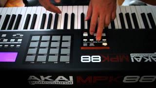 Miből lesz a zene? - AKAI MPK 88 - 1. rész Thumbnail