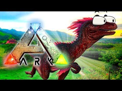RAPTOR FRENZY! Ark: Survival The Center