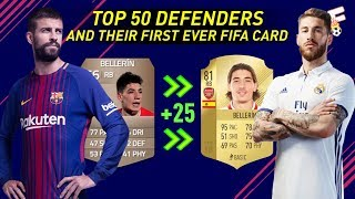 Top 50 Defenders and Their First Ever FIFA Card ⚽ Then and Now ⚽ Footchampion