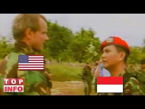 KETIKA PRABOWO MENAMPAR PERWIRA PASUKAN AMERIKA Mp3