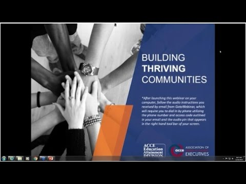ACCE Education Attainment Division Community Call: Workforce Innovation and Opportunity Act (WIOA)