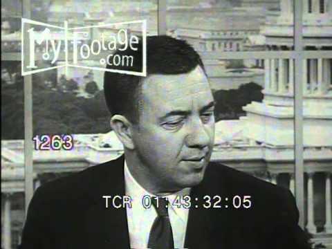 Stock Footage - 1950's - Dr. James Van Allen Interviewed