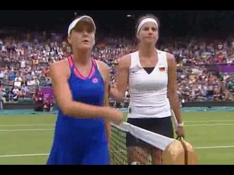Julia Goerges vs Agnieszka Radwanska 2012 London Highlights