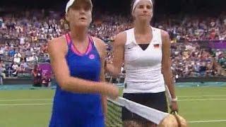 Julia Goerges vs Agnieszka Radwanska 2012 London Highlights