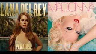 Diet Mountain Dew vs. Human Nature - Madonna vs. Lana Del Rey