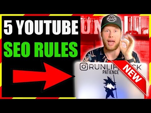 5 NEW YOUTUBE VIDEO SEO TIPS FOR 2019 RANKINGS - 동영상
