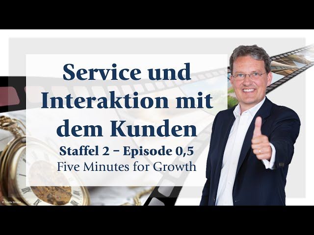 Five Minutes for Growth - Staffel 2 -  Episode 0,5