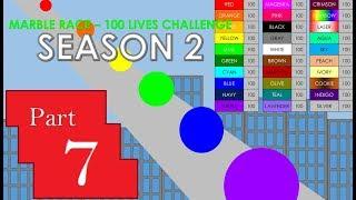 Marble Race - 100 Lives! Season 2 Part 7
