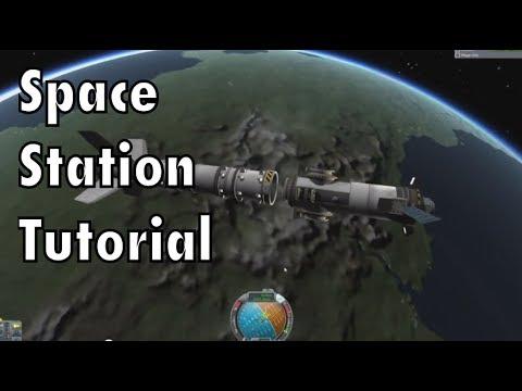 Kerbal Space Program - Tutorial For Beginners - Part 10 - Space Stations & Rendezvous
