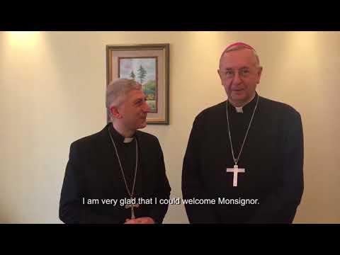 Podziękowanie abp. Stanisława Gądeckiego i abp. Josepha Tobji za wsparcie programu Rodzina Rodzinie