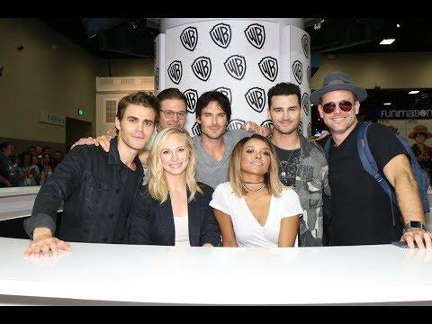 Download The Vampire Diaries Season 8 - 2016 Comic-Con Panel