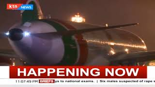 Kenya Airways maiden flight from Nairobi to New York leaves JKIA
