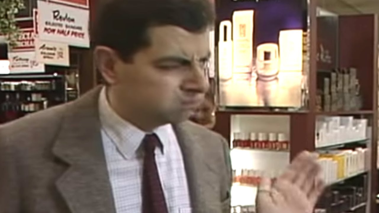 The perfume counter mr bean official youtube the perfume counter mr bean official solutioingenieria Gallery