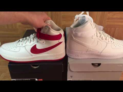 e07cdb3120b ShoeZeum Nai Ke Air Force 1 Hi Retro QS Versus Nike Air Force 1 High  07