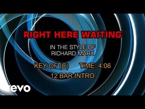 Richard Marx - Right Here Waiting (Karaoke)