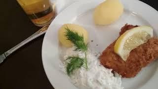 Обед в ресторане Лондон в Стокгольме (Londo Stokholm)