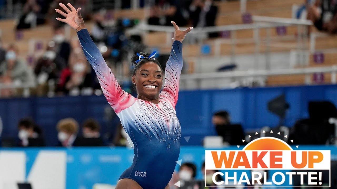 Simone Biles Competed In Olympic Balance Beam Finals - Still The ...