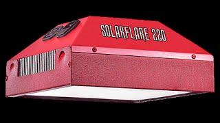 SolarFlare 220 VegMaster - New LED Grow Light for my IBC Tank Build