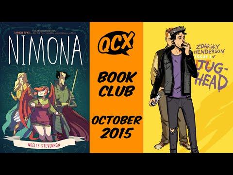 October Book Club - Jughead & Nimona